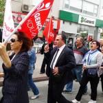 NÜKLEER KARŞITI PLATFORM EYLEMİNE KATILDI 02.04.2011
