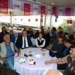 CHP İL KADIN KOLLARI ÇAYINA KATILIM 02.04.2011